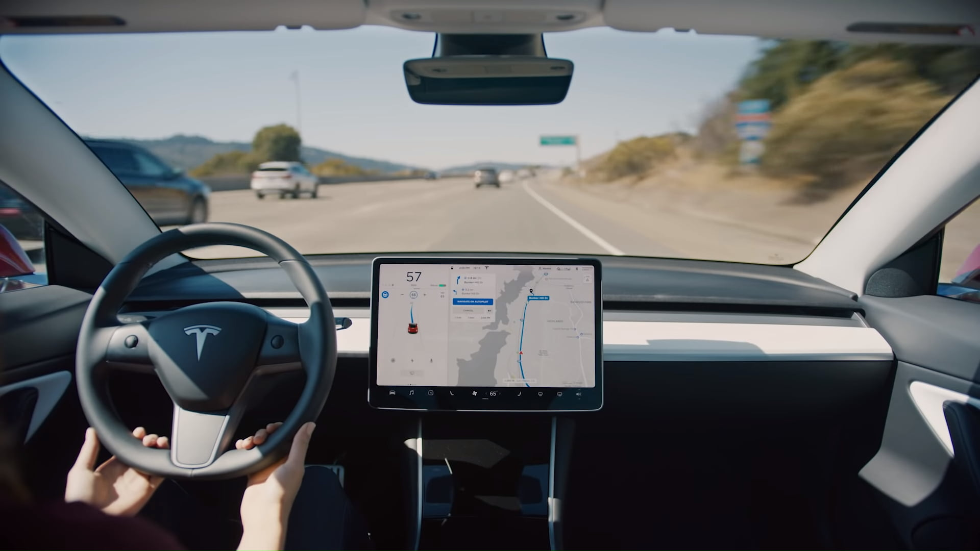 Tesla is releasing a Navigate on Autopilot feature for its vehicles