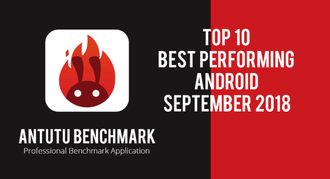 Top 10 best performing Android smartphones by Antutu