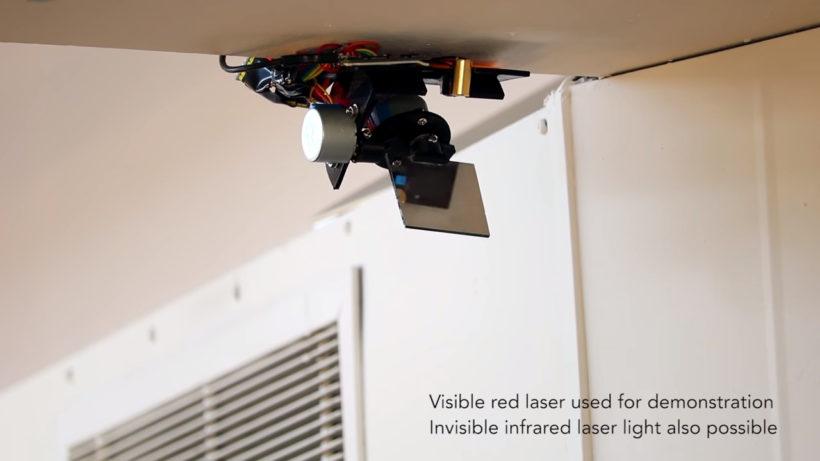 Vibrosight laser sensors