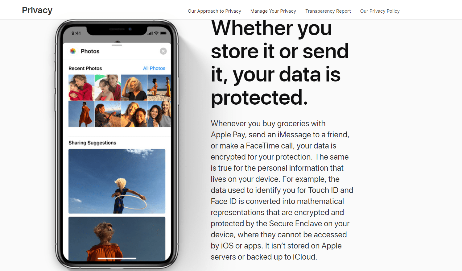 Apple is fighting to protect users' privacy