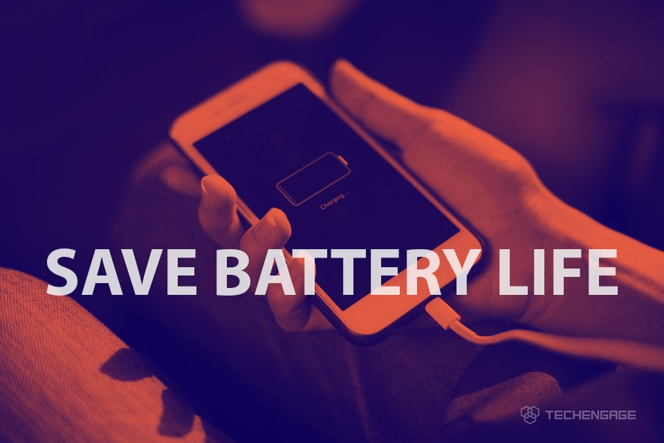 how to save battery android