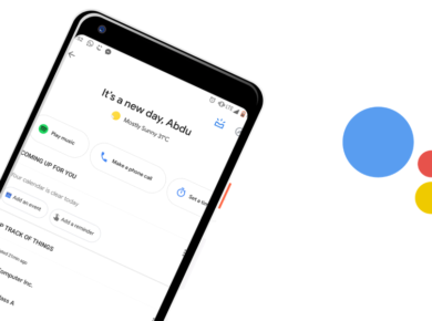 new google assistant design