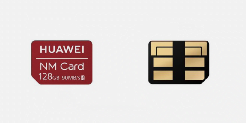 huawei nm card front and back