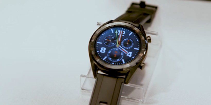 huawei gt watch in huawei mate 20 launch event