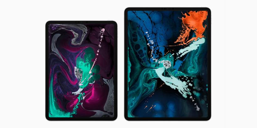 ipad pro 2018 both versions