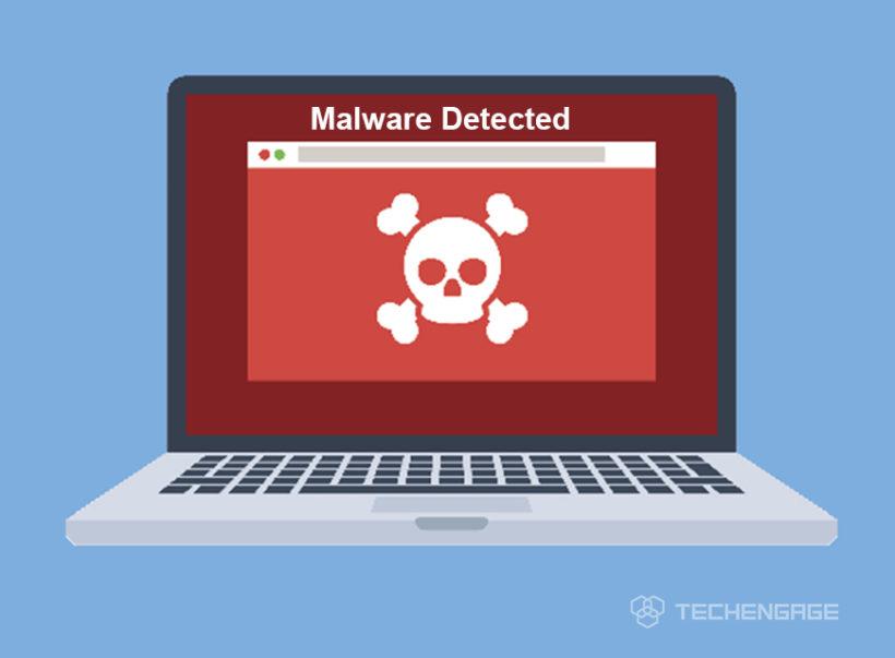Malware detected
