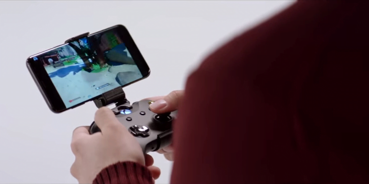 Microsoft Project xCloud streams console games on phones