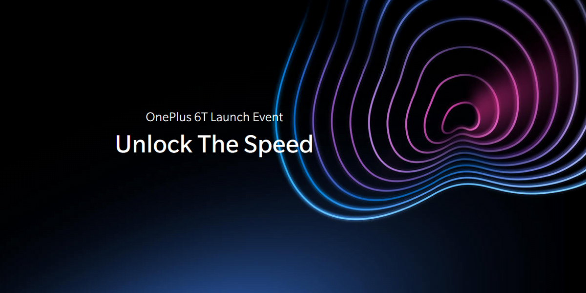 OnePlus announces OnePlus 6T Launch Event