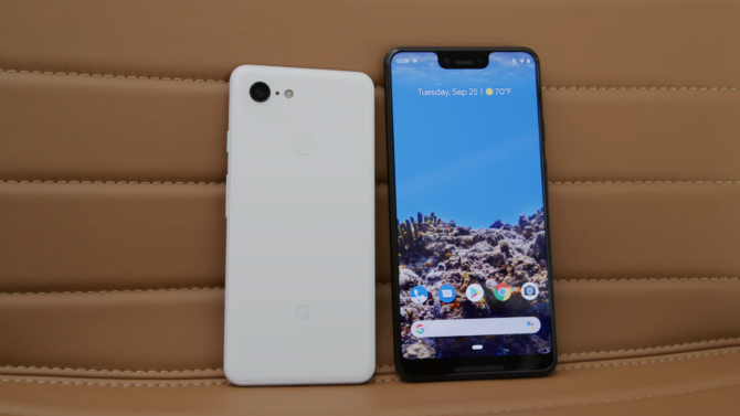 pixel 3 and pixel 3 xl review, design