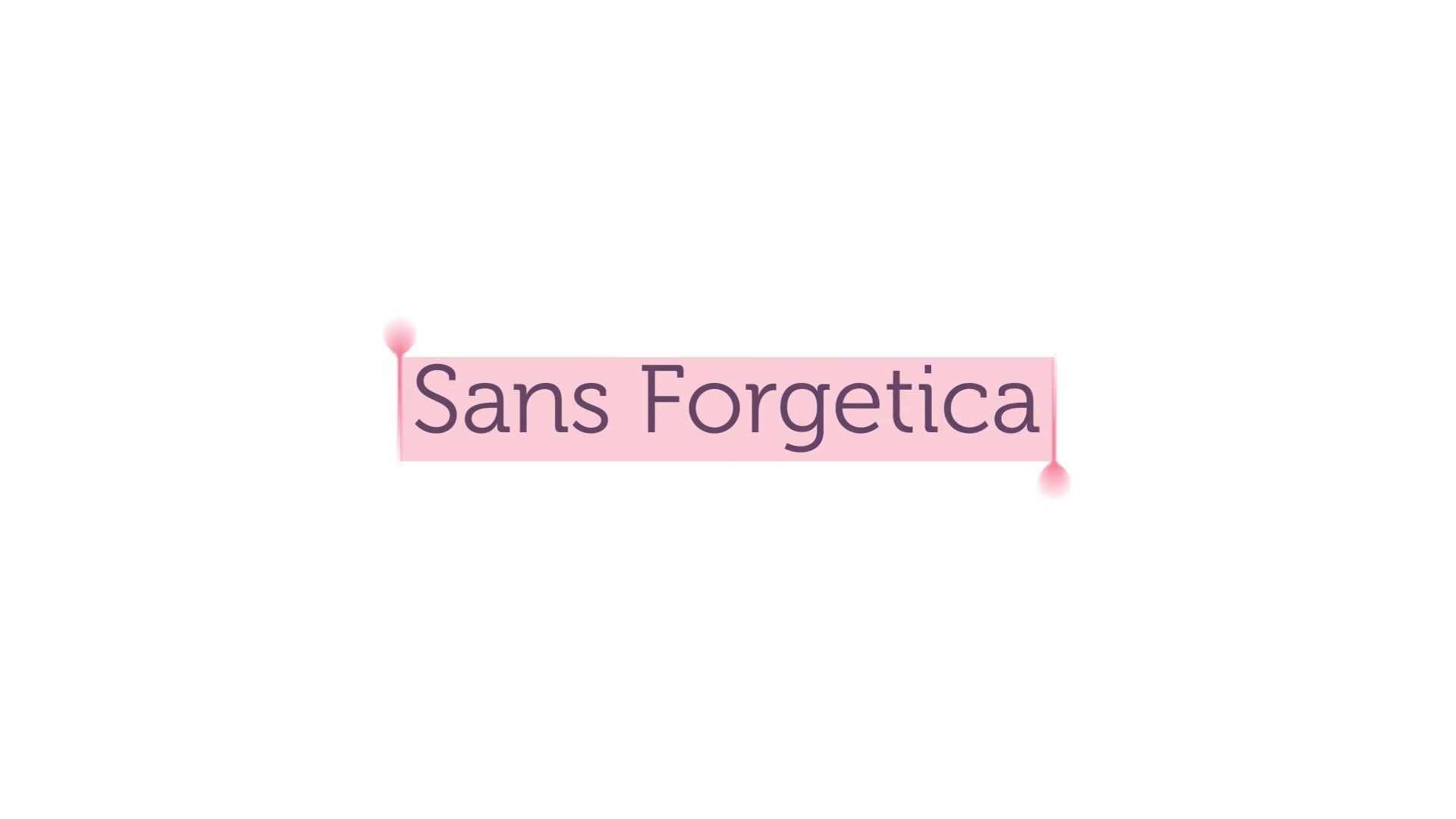 Font 'Sans forgetica' is made to help you memorize things