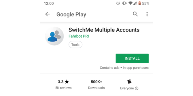 double whatsapp switchme app