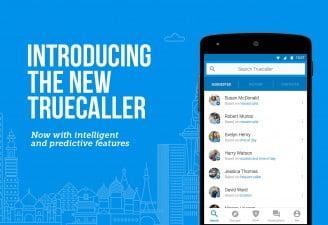 True caller anti-spam messaging app