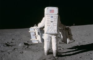 NASA Apollo Space Mission Image from NASA Gallery
