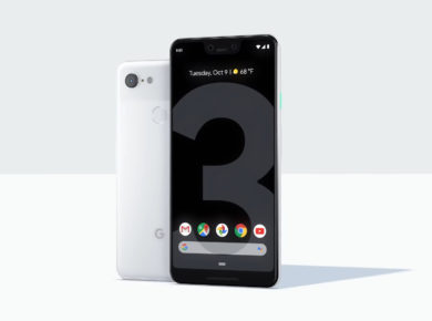 A photo of Google Pixel 3 and Pixel 3 XL
