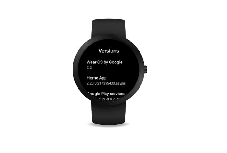 Wear OS update