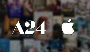 apple and a24 studios partnership