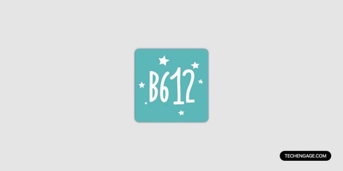 B612 selfie app