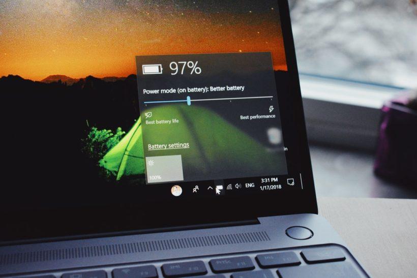 saving laptop's battery