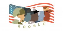 Google paid a touching tribute to veterans with a special Doodle
