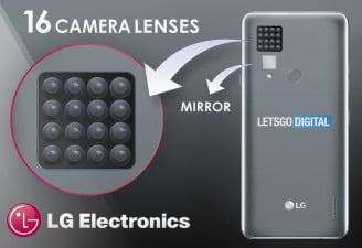 lg 16 camera smartphone