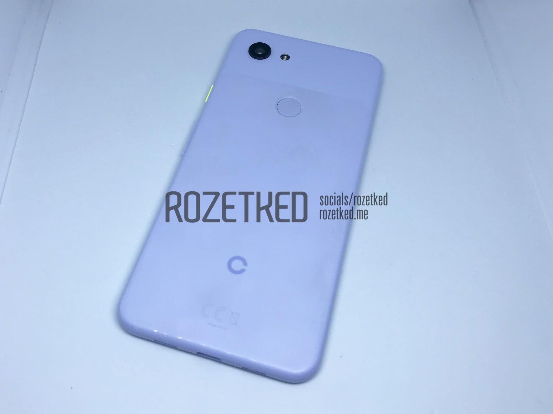 Google Pixel 3 leaks online