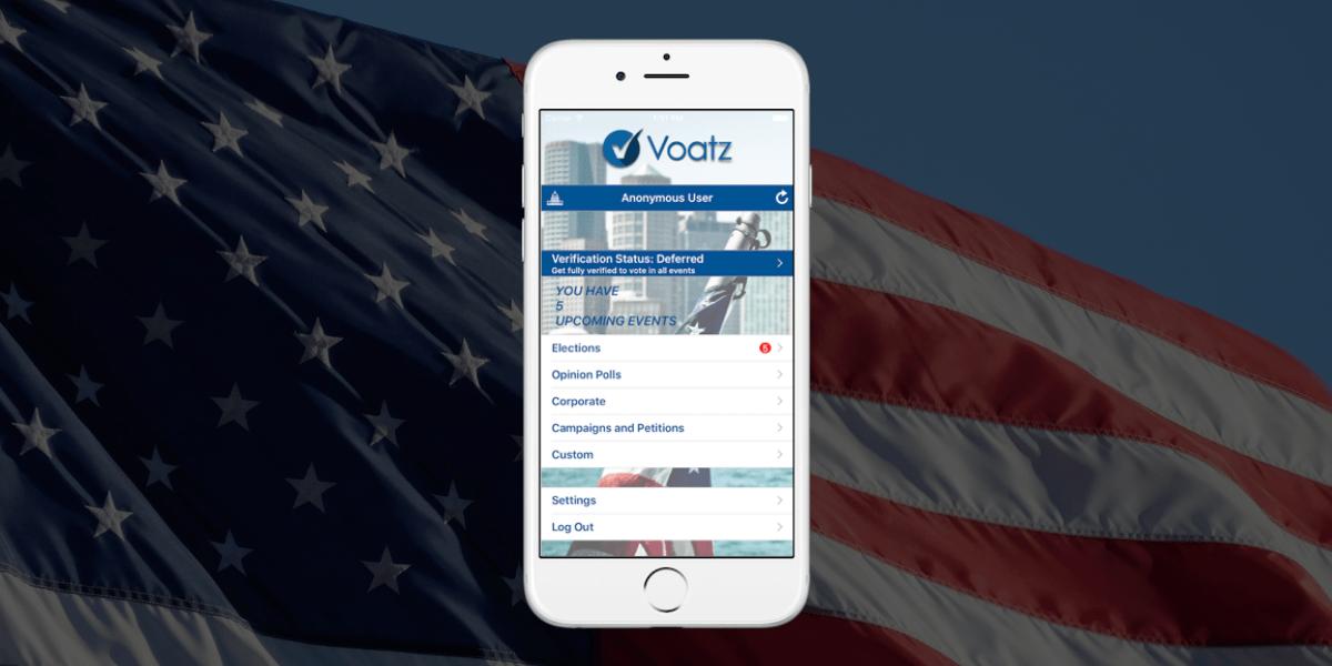 voatz blockchain mobile voting