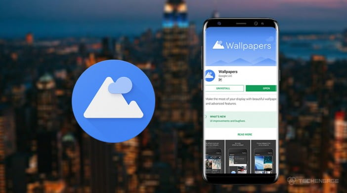 google wallpaper app for android