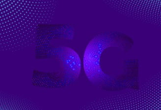 image contains 5G illustration
