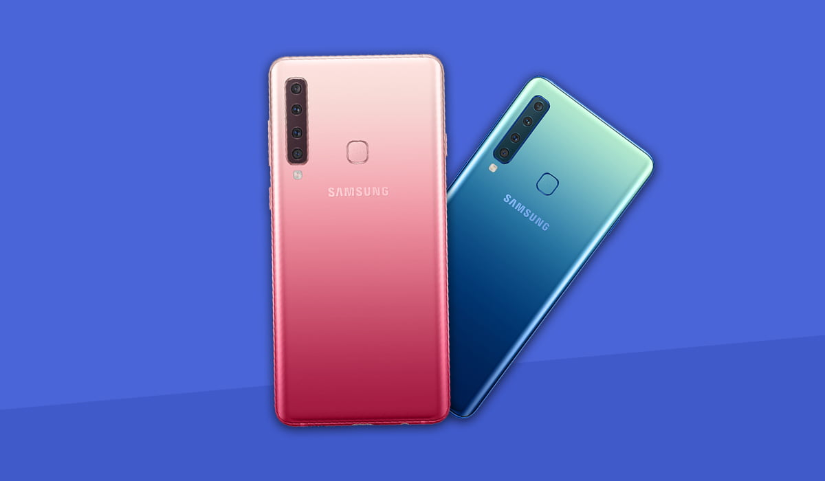 Galaxy A9 colored back