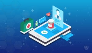 Digital health design with elements related to health and technology