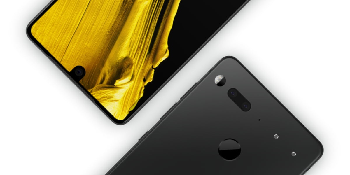 Essential Phone front and back