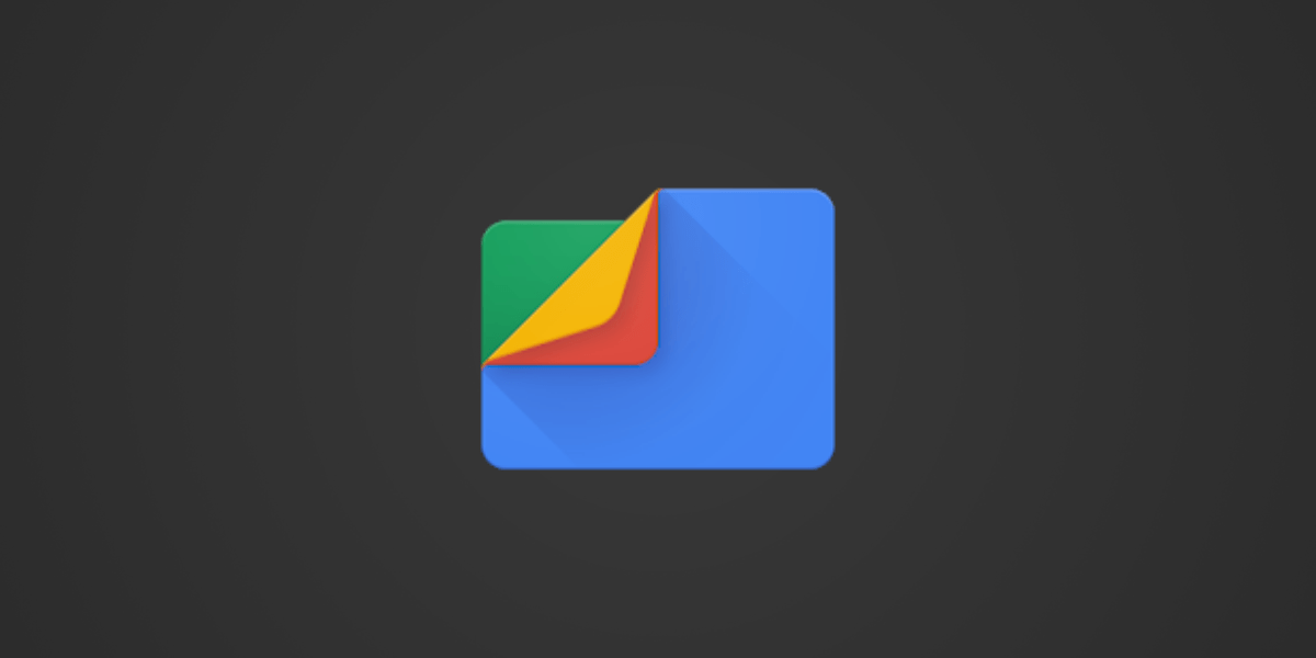 Image contains logo of Files by Google App