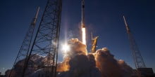 SpaceX launches powerful new satellite for the US military