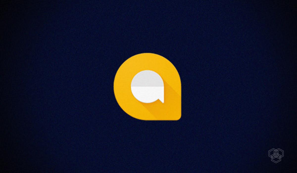 image contains google allo logo