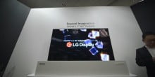 LG is reportedly putting its 'Rollable' TV on sale next year