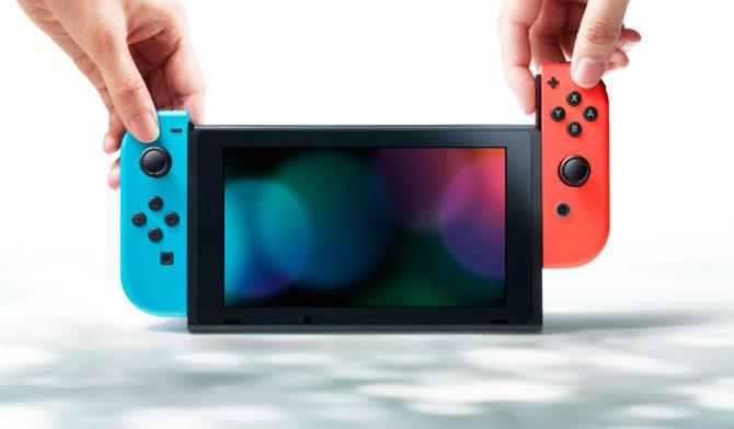 Nintendo Switch Screen