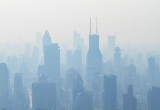 China city smog