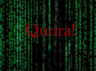 An image of Quora logo with background, Quora data breach