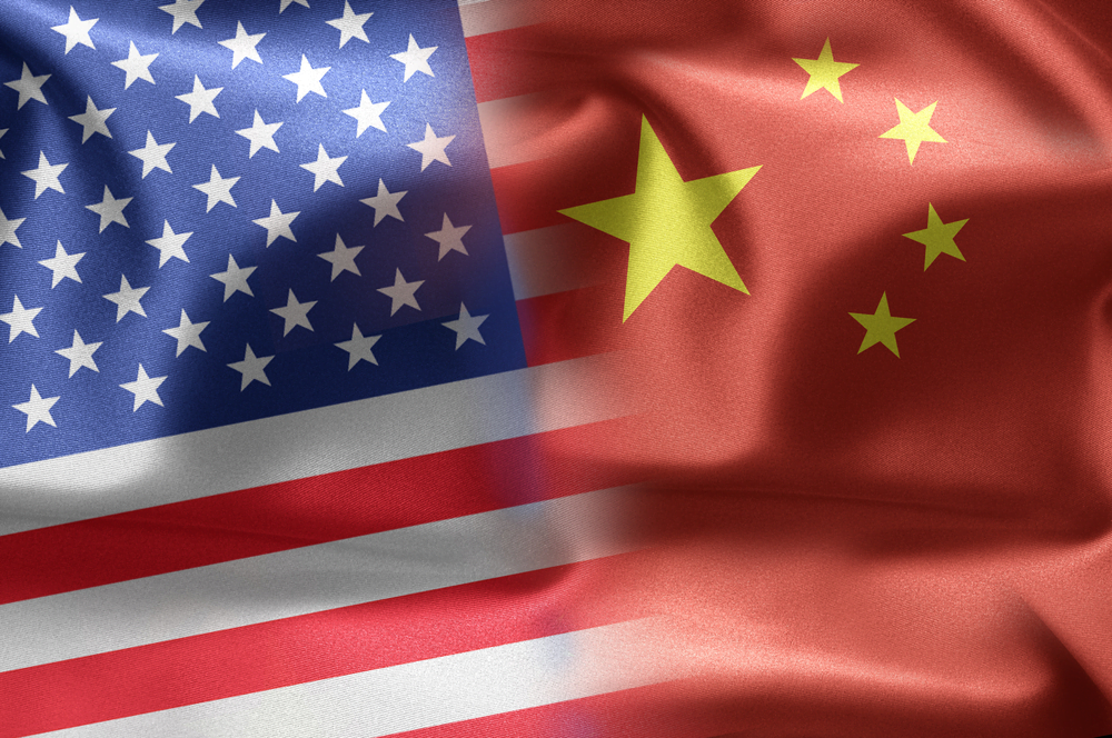 United States and China flag, US accused china of state sponsored hacking