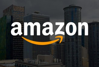An image with Amazon logo used as a featured image for Amazon Go store article