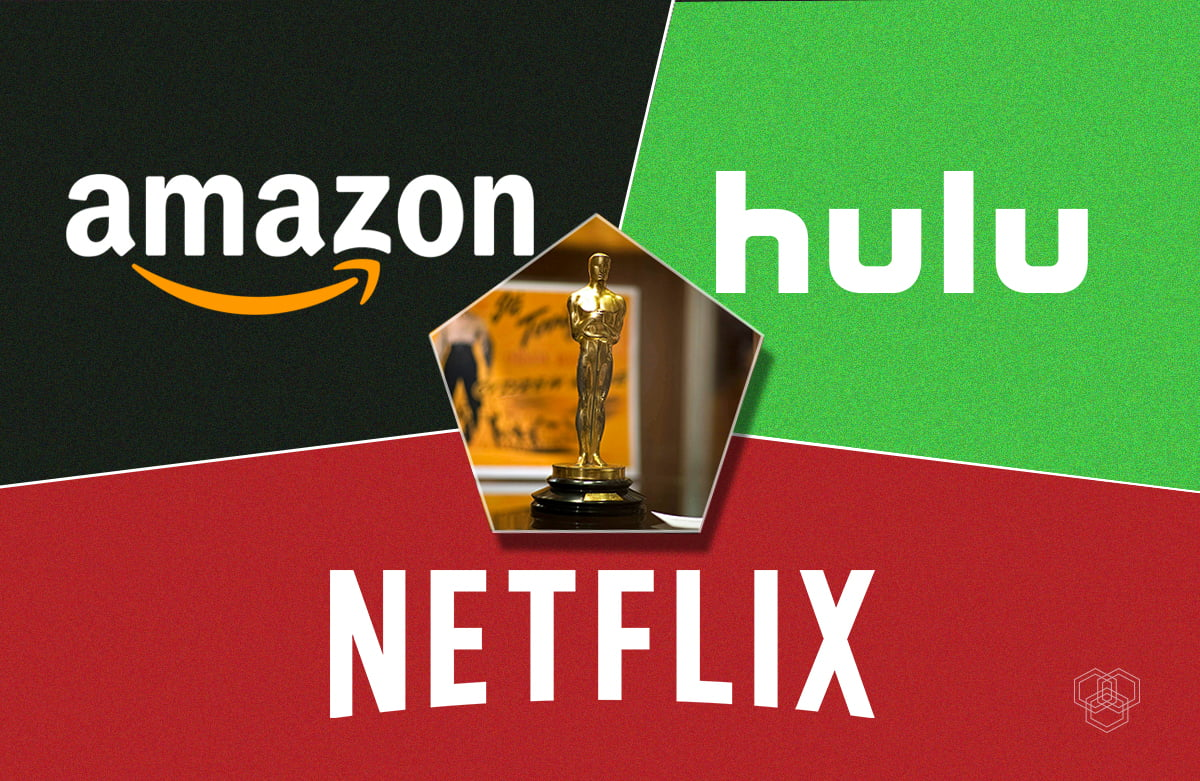 amazon, hulu, netflix nominated for oscars