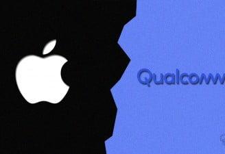 Apple vs Qualcomm illustration