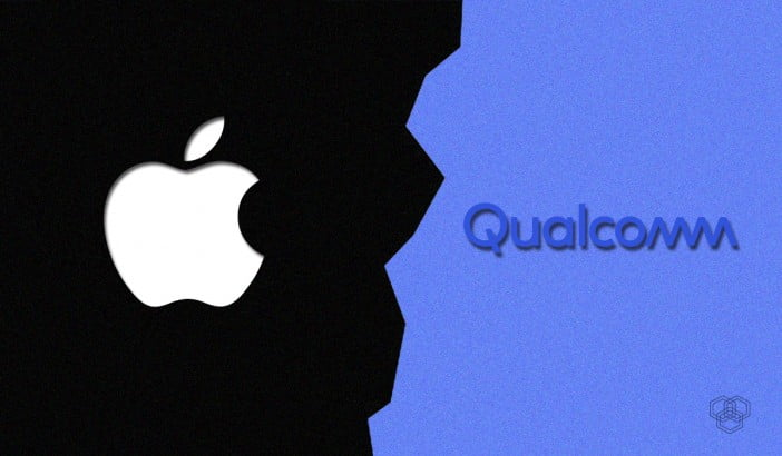 Apple vs Qualcomm illustration