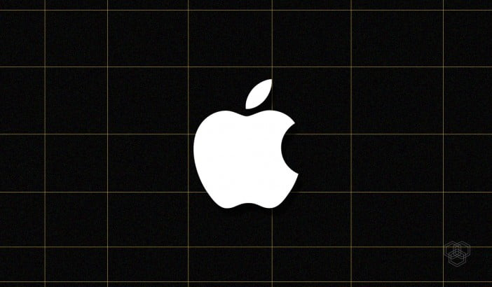 illustration contains Apple logo