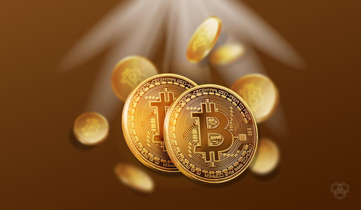 an image contains bitcoin logo