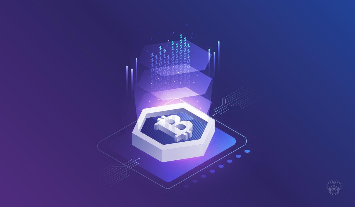 bitcoin logo illustration