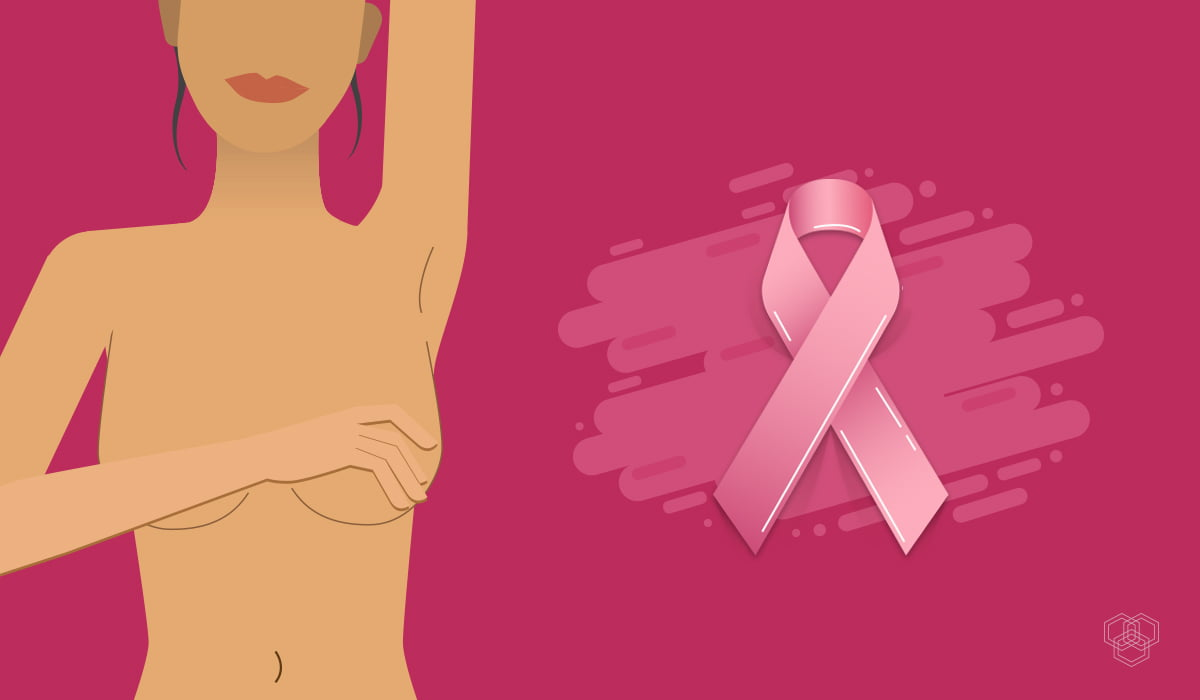 Breast-cancer-awareness illustration