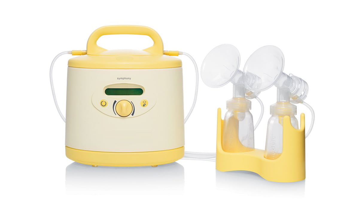 image contains Breast Pump