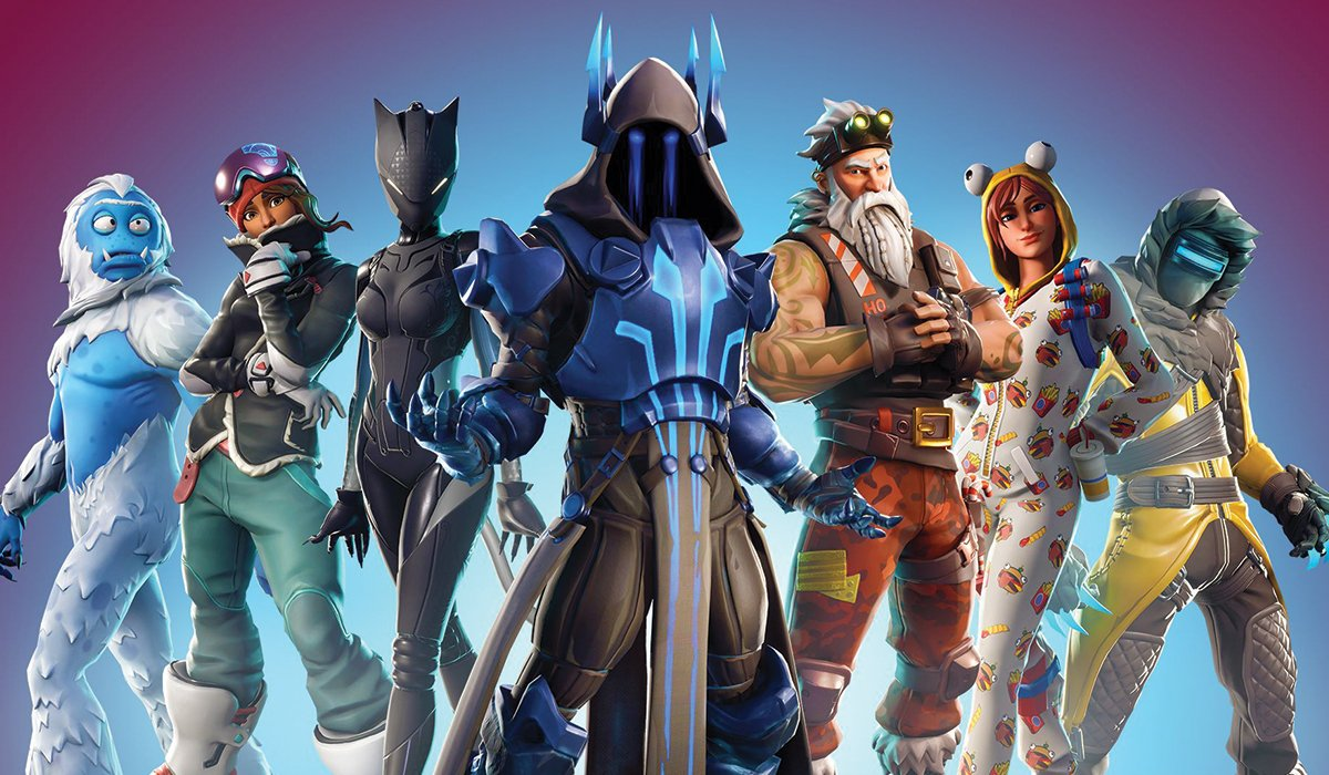 epic games characters