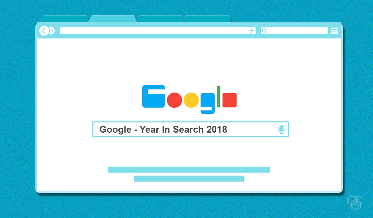 illustration of google year in search 2018